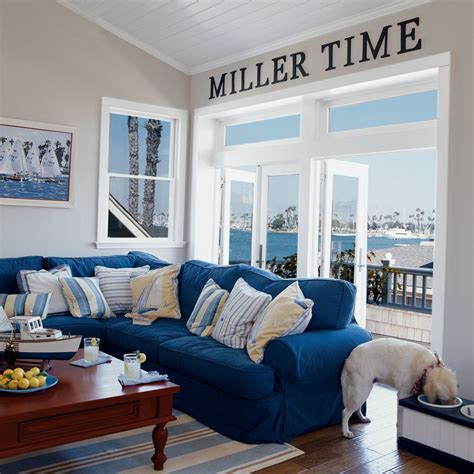 nautical themed living room durable beach living room 20 beautiful beach cottages