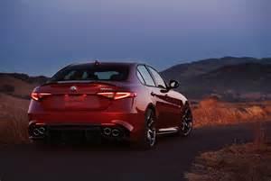 Giulia Alfa Romeo Reveal 2017 Alfa Romeo Giulia Quadrifoglio Canadian