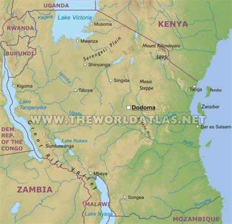 africa map mount kilimanjaro africa mount kilimanjaro map