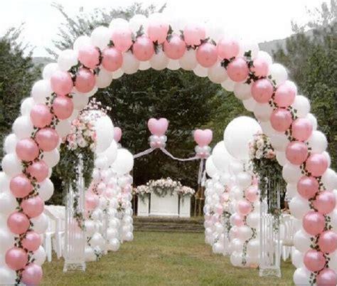 decoracion de boda con globos arcos de globos para boda