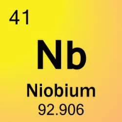 element 41 niobium science notes and projects