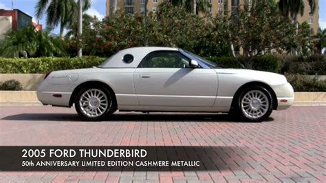 2005 Ford Thunderbird by 2005 Ford Thunderbird 50th Anniversary Autos Post