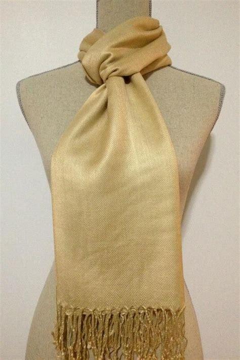 gold pattern pashmina ligth gold pashmina wedding shawls bridesmaid warp