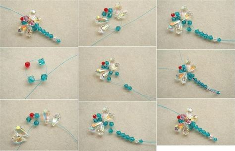 beading craft projects diy beaded dragonfly