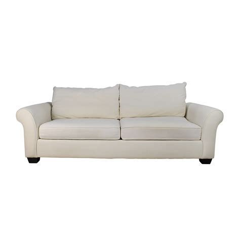 pottery barn comfort roll arm sofa 69 off crate and barrel crate barrel simone daybed