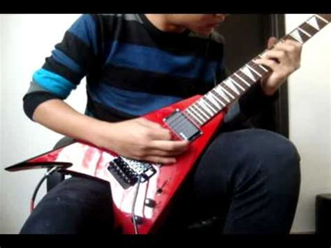 bed of razors cover children of bodom bed of razors guitar cover