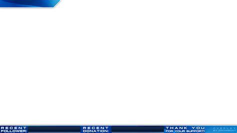 Twitch Design Vorlage free twitch overlay minimal design blue crowboat