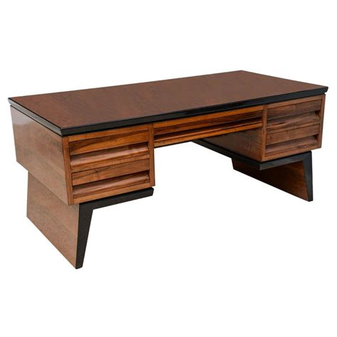 Modern Desks With Storage 17 Best Images About Mid Century Modern Office On Pinterest Modern Desk Furniture And Mid