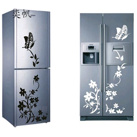 diy creative refrigerator sticker butterfly home decor diy