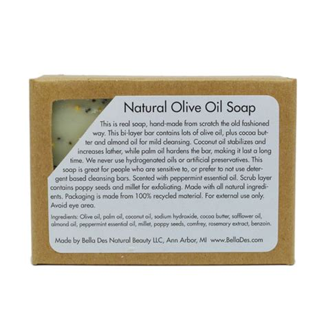 why a man would receive scrub soap as a gift peppermint scrub retro soap