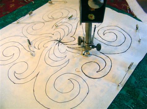 Continuous Line Quilting by Continuous Line Quilting Designs Machine Quilting Tips On