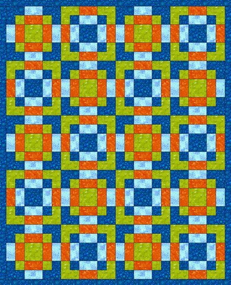 Twisted Nine Patch Quilt Pattern Free by Chock A Block Quilt Blocks Disappearing 9 Patch Variation