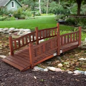 backyard bridge belham living richmond 6 ft garden bridge garden