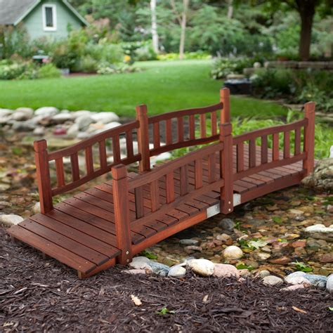 backyard bridges belham living richmond 6 ft garden bridge garden