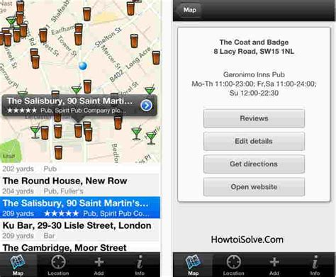 Best Finder App Top Best Bars And Pubs Finder Apps For Iphone And