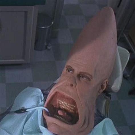cone rows hair coneheads this movie was terrifying lol cinema