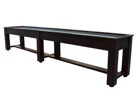 9 ft shuffleboard table berner billiards 9 12 14 or 16 foot shuffleboard table