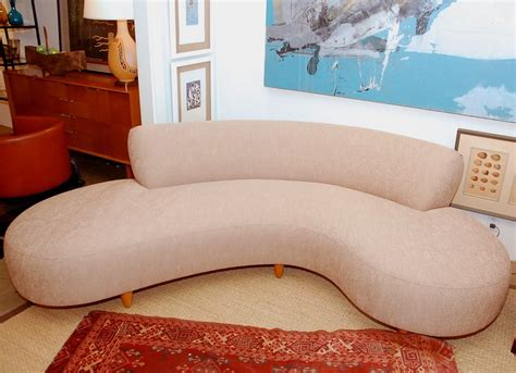 kidney shaped sofa with fringe kidney shaped sofas unique kidney shaped sofa at 1stdibs