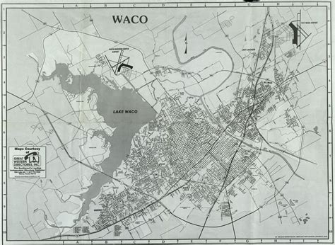 map texas waco the texas collection treasures and new page 11