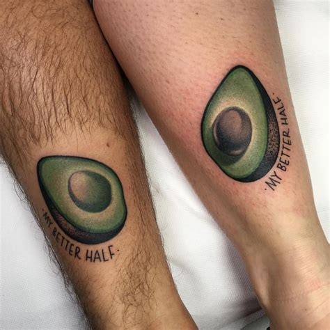 avocado designs ideas and meaning tattoos for you