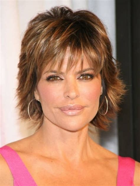 medium shaggy hairstyle for women over 40 short haircuts women over 40
