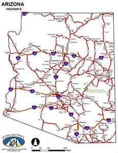 arizona state major maps arizona road map salt river rafting wilderness aware