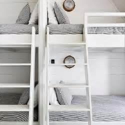 side by side bunk beds side by side loft beds shiplap bunk beds design ideas