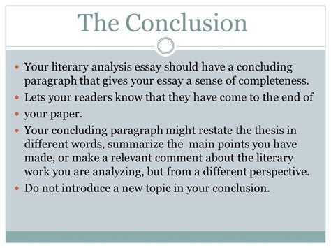 How To Write An Analytical Essay by How To Write A Analytical Essay Conclusion