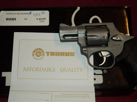 Revolver Taurus Ultra Light 380 taurus ultra light 380 moon