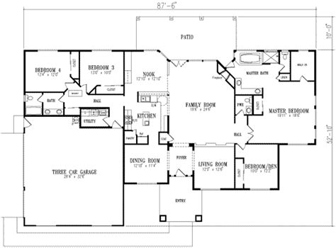 3105 square feet 5 bedrooms 4 batrooms 3 parking space mediterranean style house plan 4 beds 2 5 baths 2800 sq ft plan 1 684