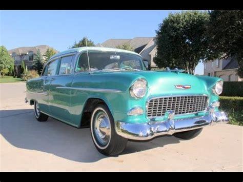 1955 chevrolet bel air 4 door for sale