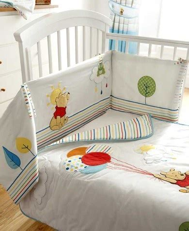 Winnie The Pooh Delightful Day Crib Bedding Winnie The Pooh Day Cot Bumper Baby The O Jays Days And Bedding