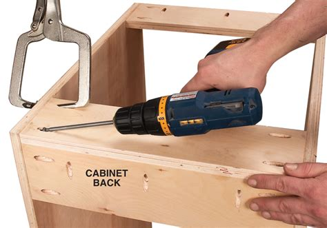 plywood cabinet screws plans  potters bench