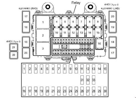 Isuzu Npr Relay Box Diagram