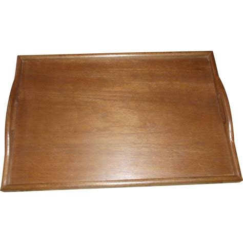 bed tray midcentury modern solid teak bed tray from