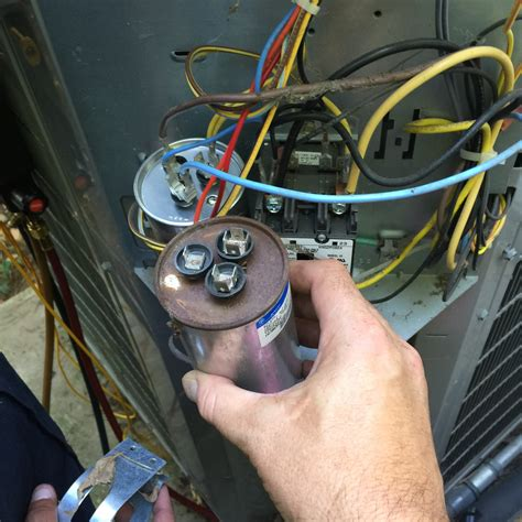 capacitor air conditioner wiring why would you need to replace a capacitor in an air conditioner kilowatt