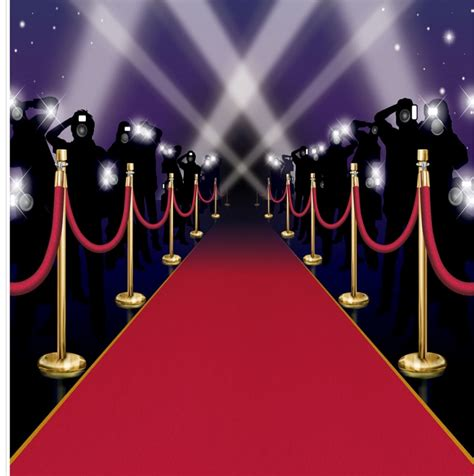 hollywood movie night red carpet oscar awards decorations