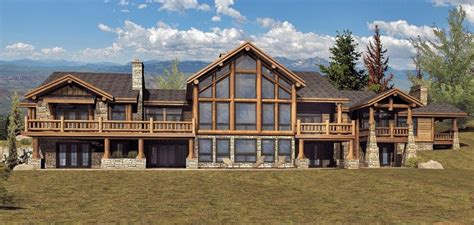 large log home floor plans cascade log homes cabins and log home floor plans