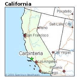 carpinteria california map best places to live in carpinteria california