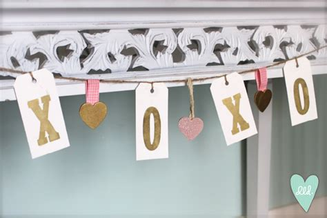 xoxo printable banner valentine s decor printable signs love tree banner