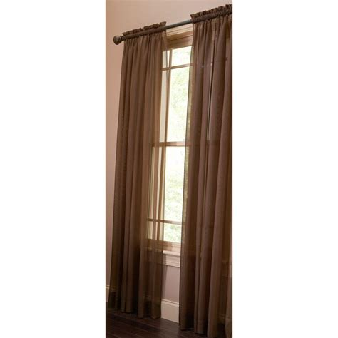 martha living curtains martha stewart living tilled soil fine sheer rod pocket