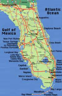 maps of florida beaches florida map