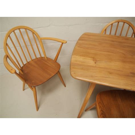 Ercol Dining Table And Chairs Ercol Dining Table And Chairs