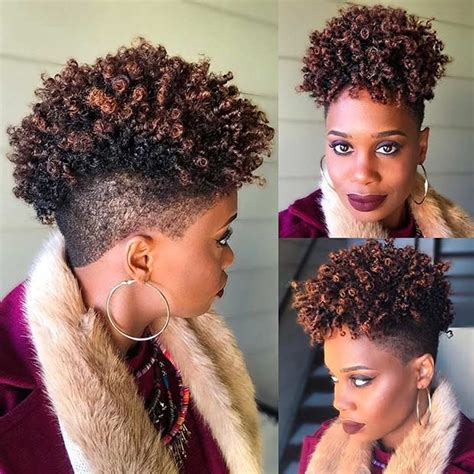 different hair styles for natural hairstyles for women over 50 31 best short natural hairstyles for black women page 3