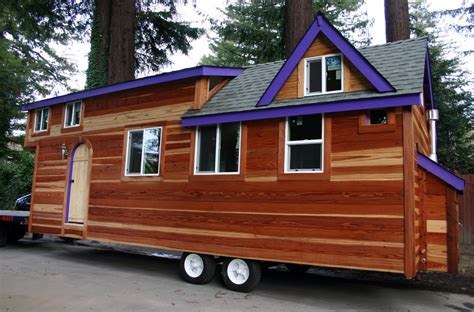 blue decoration tiny house on wheels plans redwood 355