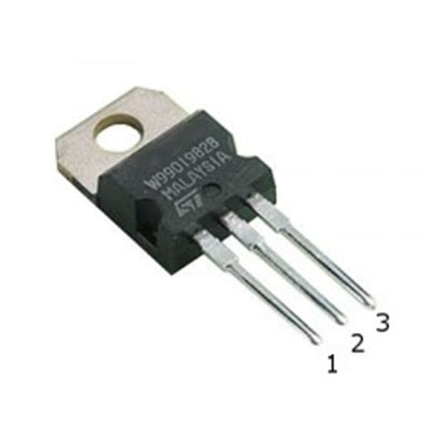 l7805 voltage regulator datasheet kitronik