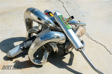 Ktm Exhaust Systems Dirt Bike Magazine Ktm 300 Exhaust Systems