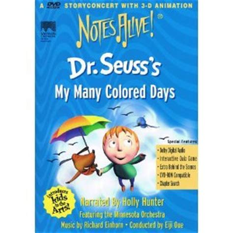 dr seuss my many colored days dr seuss s my many colored days notes alive