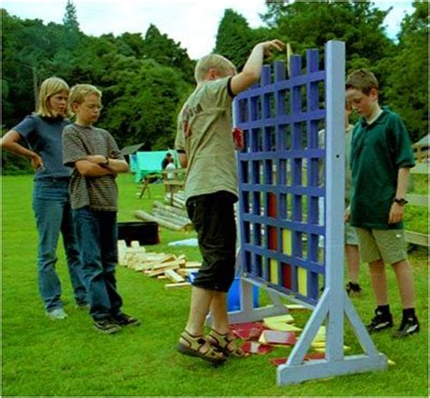 big backyard games diy backyard connect four crafts pinterest