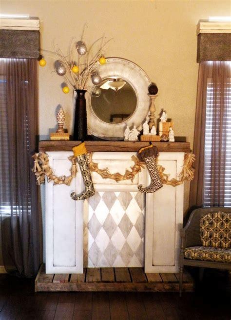 diy faux fireplace ideas diy faux fireplace vintage revivals